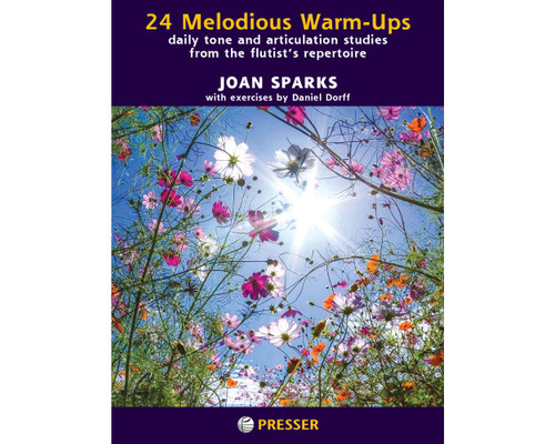 Sparks, 24 Melodious Warm-Ups [CF:114-41983]