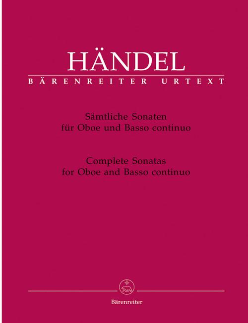 Händel, Complete Sonatas for Oboe and Basso continuo[BAR:BA4260]