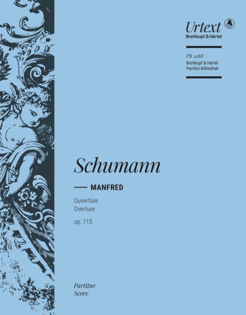 "Schumann, Overture to ""Manfred"", op. 115 [Breit:PB5546]"
