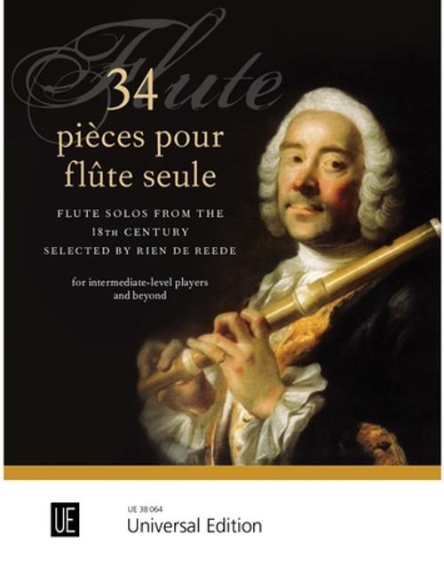 34 pieces pour flute seule [CF:UE38064]