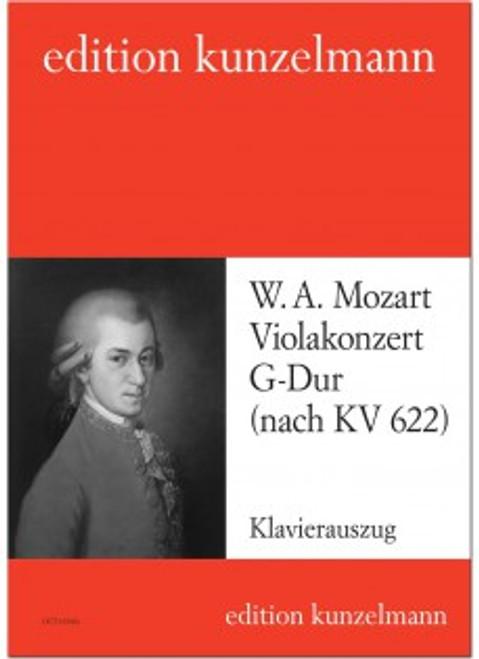 Mozart, Viola Concerto in G major (after the Clarinet Concerto) [OCT10345A]