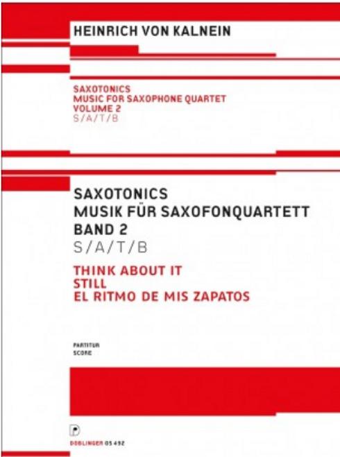 Hainrich Von Kalnein, Saxotonics Volume 2 (Score) [Ancora:DO05492-PA]