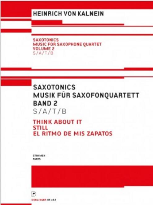 Heinrich Von Kalnein, Saxotonics Volume 2 (Parts) [Ancora:DO05492-ST]