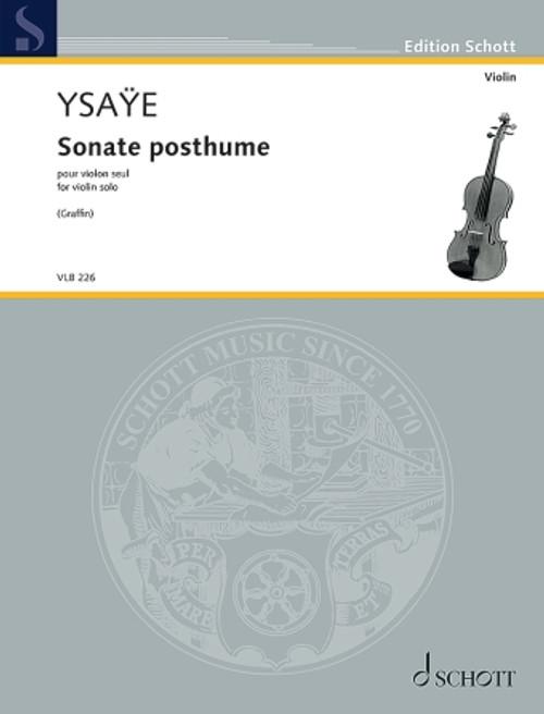 Ysaye, Sonate posthume [HL.49046553]