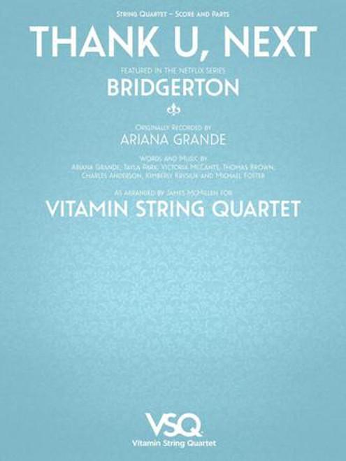"""Thank U, Next - Featured in Netflix Series """"Bridgerton"""" for String Quartet [HL.00364637]"""