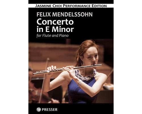 Mendelssohn, Concerto in E Minor for Flute and Piano [CF:114-41935]