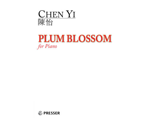 Chen, Plum Blossom for piano [CF:110-41827]