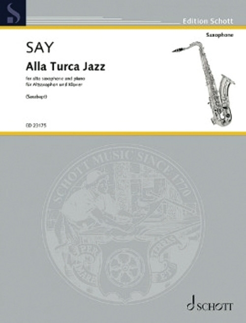 Say, Alla Turca Jazz Op. 5b. [HL:49046415]