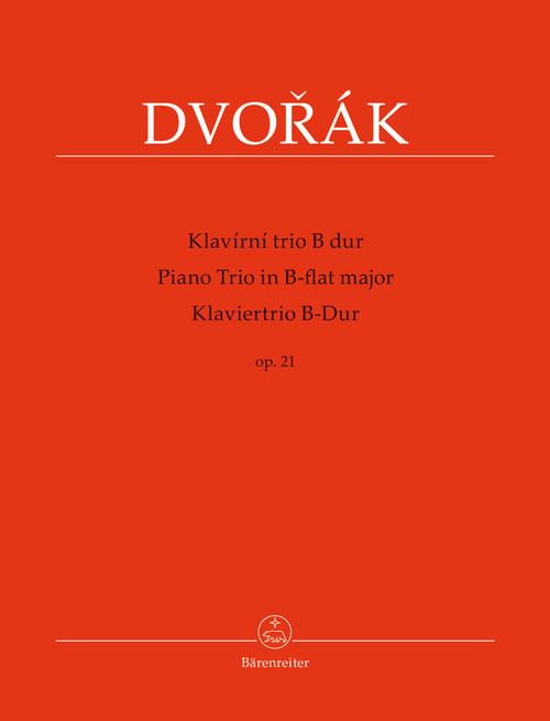Dvorák, Piano Trio in B-flat major op. 21[BAR:BA9578]