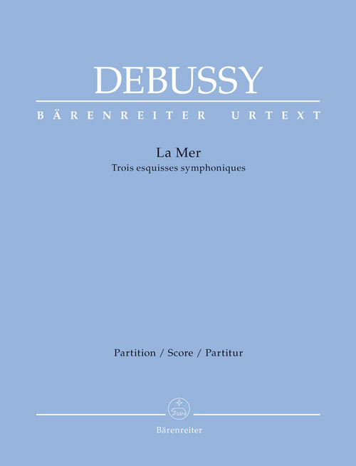 Debussy,  La Mer: Three symphonic sketches[BAR:BA7880]