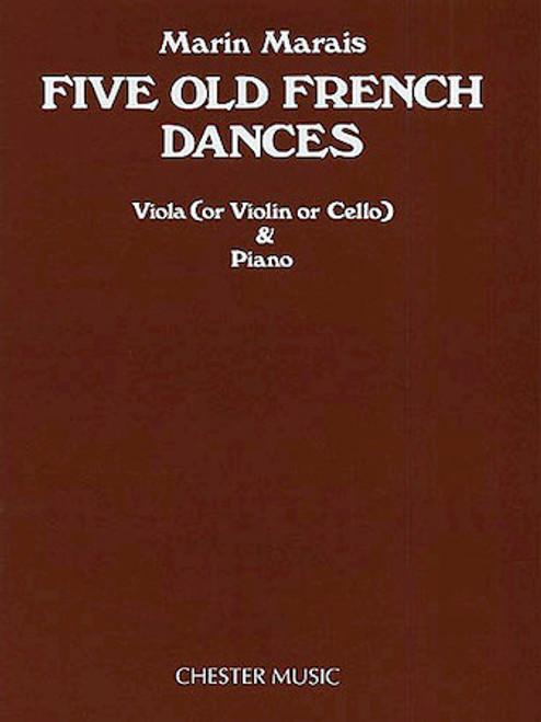 Marais, Five Old French Dances [HL.14020564]
