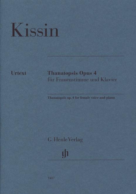 Kissin, Thanatopsis Op.4 [HL:51481487]