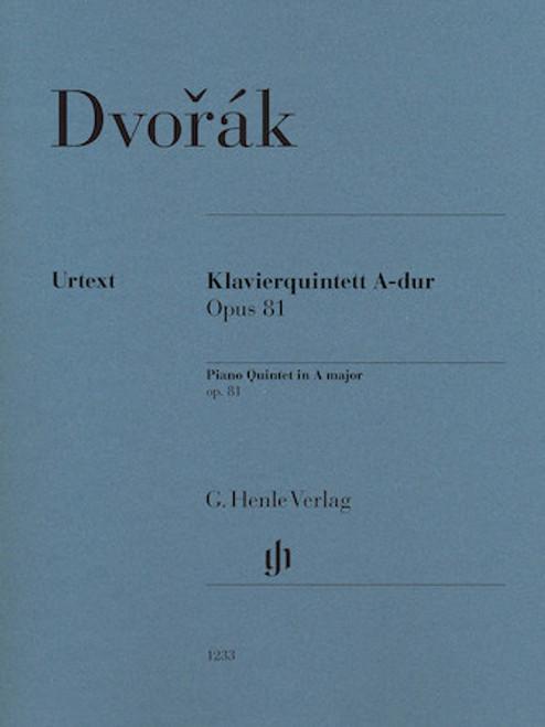 Dvorak, Piano Quintet in A major op.81 [HL:51481233]