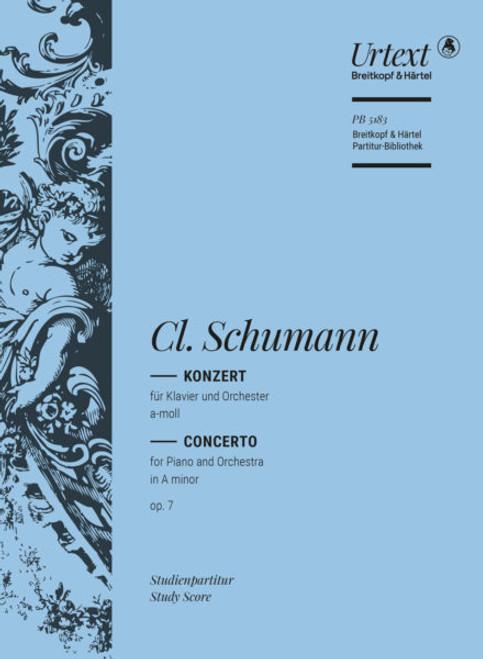 Clara Schumann, Concerto in A minor, op. 7