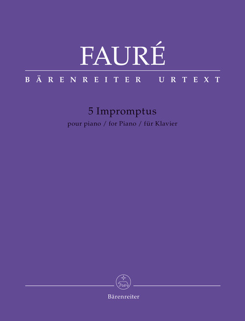 Faure, 5 Impromptus [BA:11851]