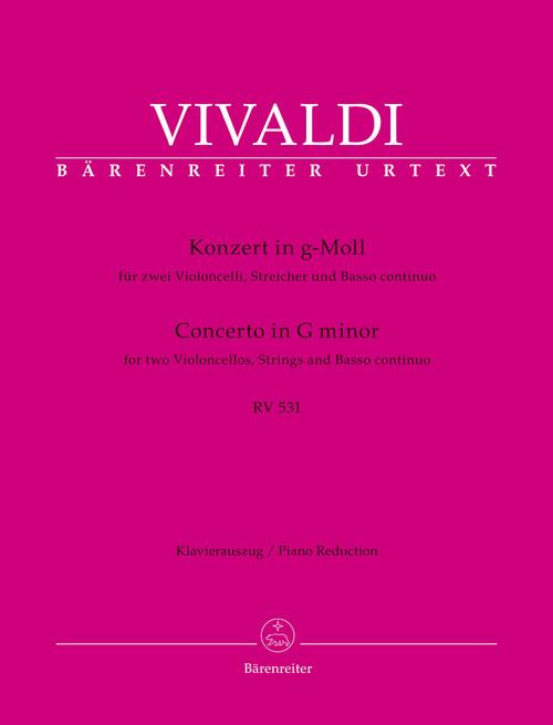 Vivaldi, Concerto in G minor for two cellos [BA:10946-90]