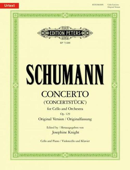 Schumann, Cello Concerto in A minor Op. 129 [Pet:EP73488]