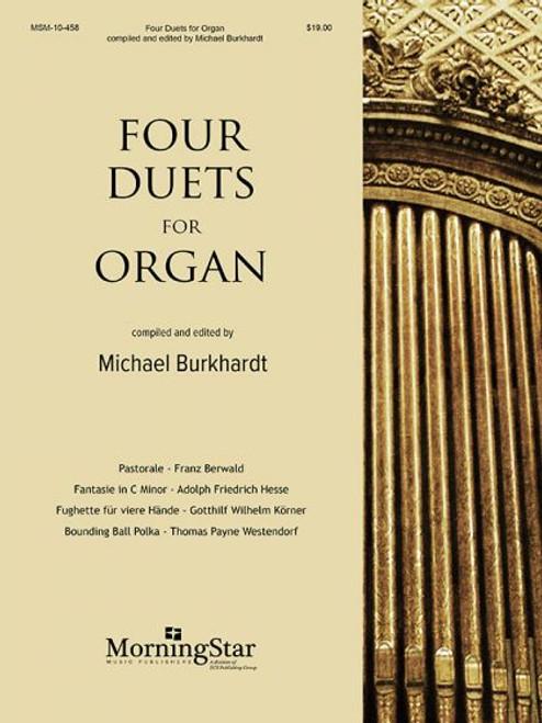 Four Duets for Organ (ed. Burkhardt) [MSM:10-458]