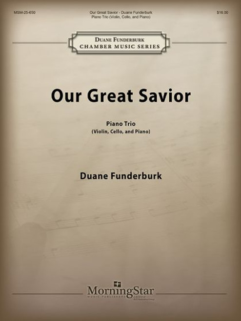 Funderburk, Our Great Savior [MSM:25-650]