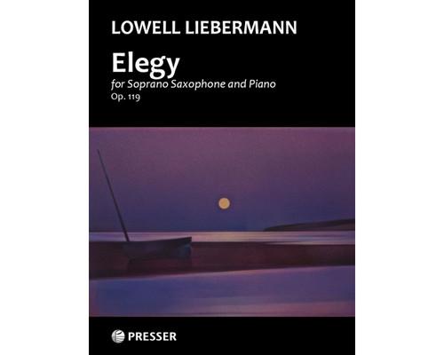 Liebermann - Elegy for Saxophone and Piano (op. 119) [Press:114-42270]