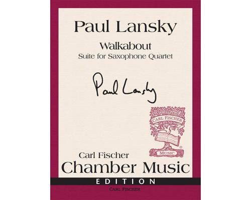 Lansky - Walkabout: Suite for Saxophone Quartet [CF:W2697]