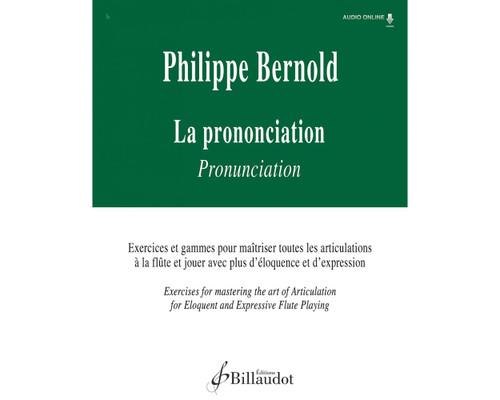 Bernold - La Prononciation: Articulation Exercises for Flute [Press:524-09045]