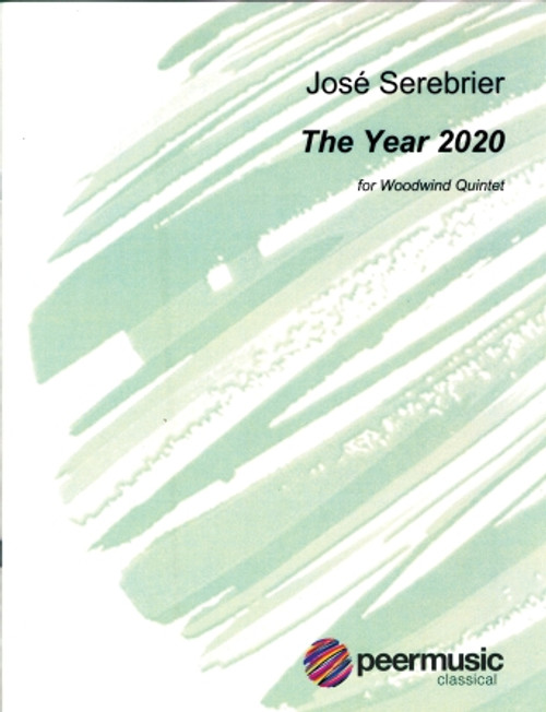 Serebrier, The Year 2020 for Woodwind Quintet [HL:361951]