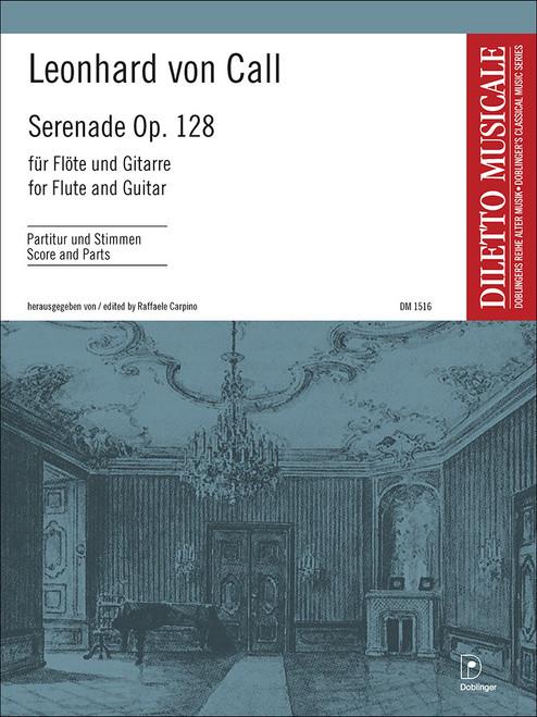 von Call, Serenade op. 128 for Flute and Guitar [Dob:DM1516]