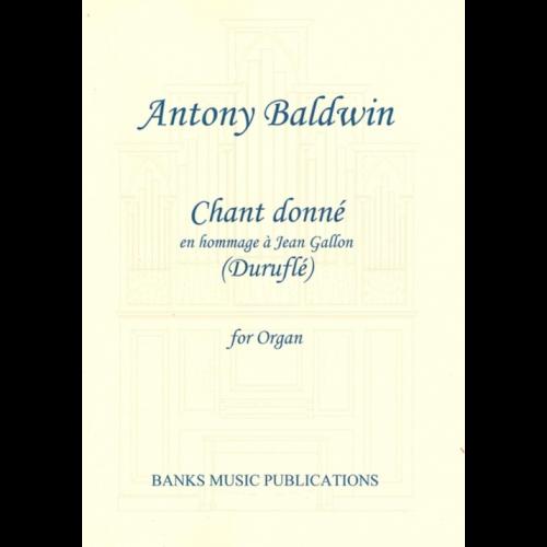 Durufle, Chant Donne [Banks:14087]
