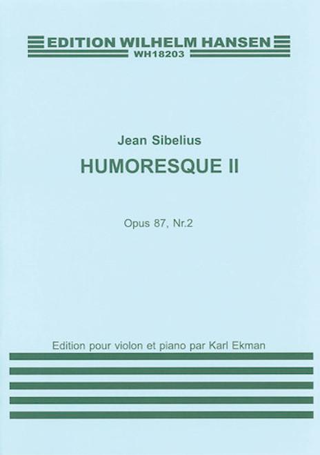 Sibelius -  Humoresque No.2 Op.87 No.2 (Violin/Piano)[HL:14030039]