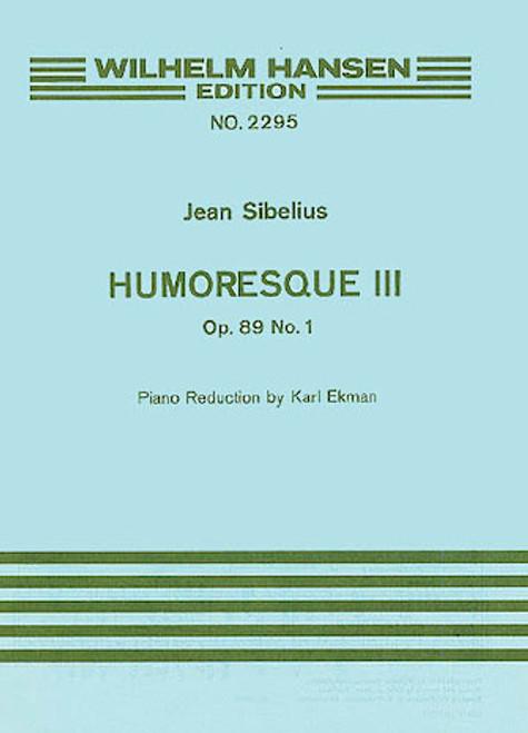Sibelius -  Humoresque No.1 Op.89 (Violin/Piano)[HL:14030040]