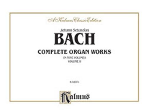 Bach, J.S. - Complete Organ Works, Volume II  [Alf:00-K03071]