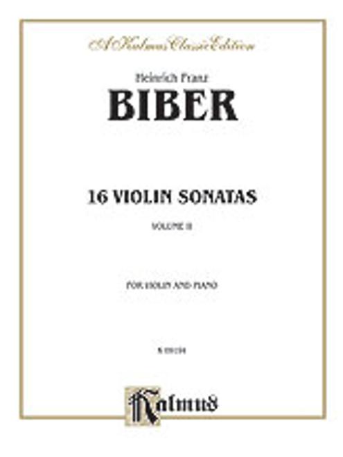 Biber, 16 Violin Sonatas [Alf:00-K09194]