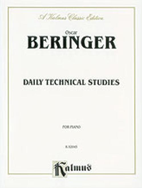 Oscar Beringer, Daily Technical Studies for Piano [Alf:00-K02045]