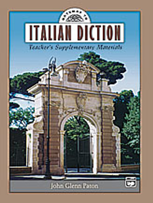 Gateway to Italian Diction  [Alf:00-17640]