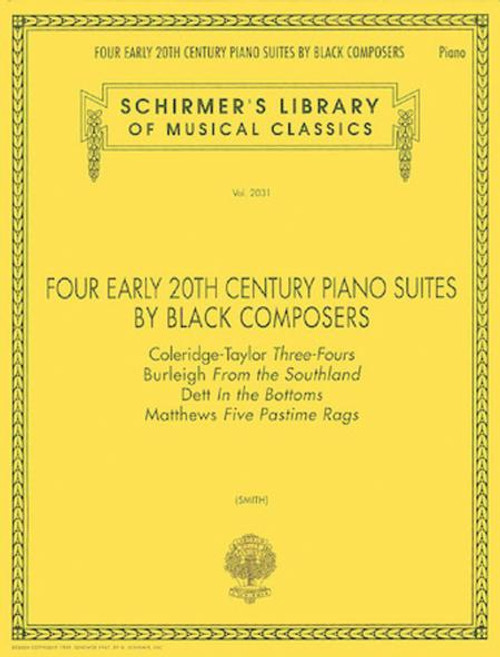 Four Early 20th Century Piano Suites by Black Composers [HL:50482960]