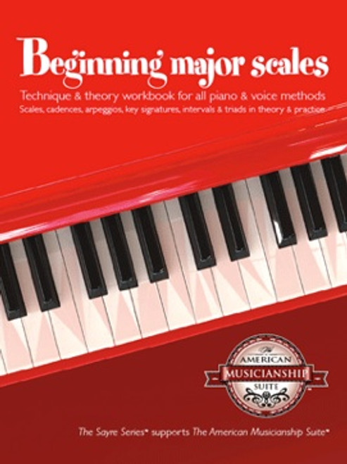 Beginning Major Scales for Piano [Sayre]