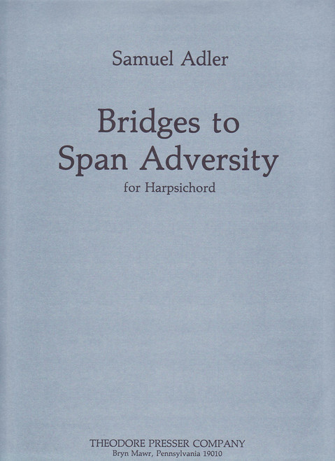 Adler, Bridges To Span Adversity [CF:110-40687]