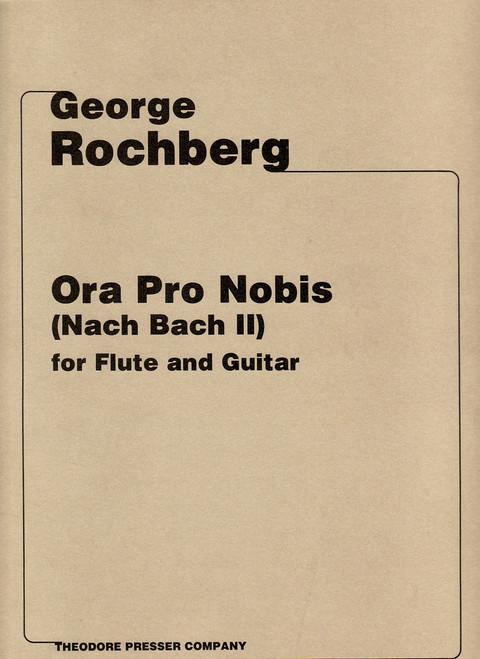 Rochberg, Ora Pro Nobis (Nach Bach Ii) [CF:114-40593]