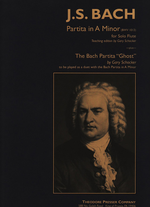 """Partita In A Minor For Solo Flute And The Bach Partita """"Ghost"""" To Be  [CF:114-40916]"""