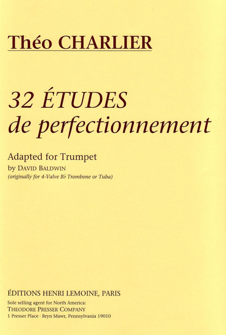 Charlier, 32 Etudes De Perfectionnement [CF:114-41001]