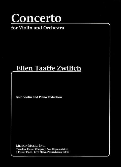 Zwilich, Concerto For Violin And Orchestra [CF:144-40314]
