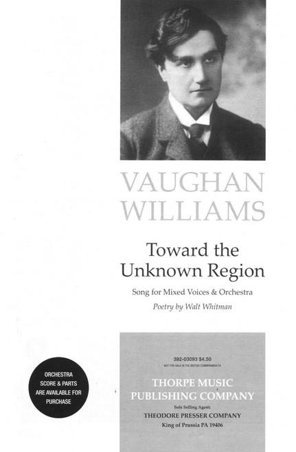 Vaughan Williams, Toward The Unknown Region [CF:392-03093]