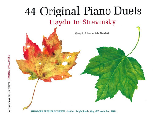 44 Original Piano Duets [CF:410-41166]