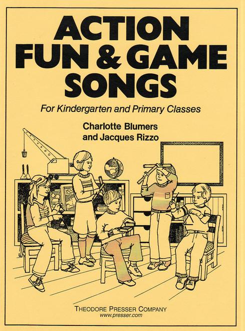 Action Fun & Game Songs [CF:411-41077]