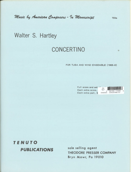 Hartley, Concertino [CF:494-00392]