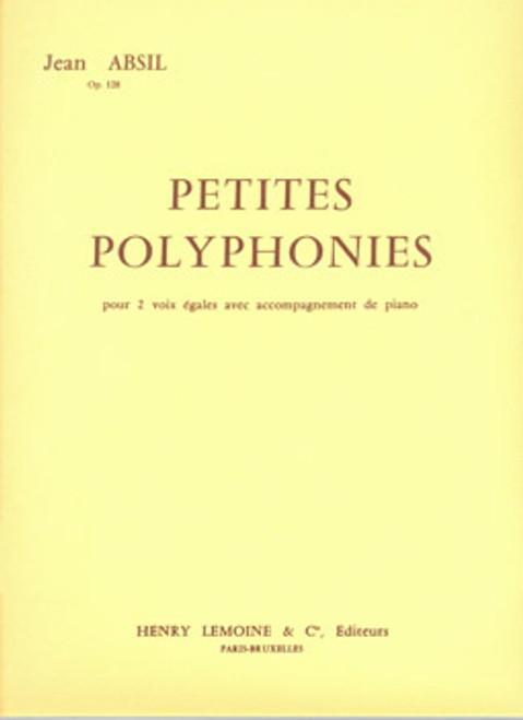 Absil, Petites Polyphonies [CF:511-01571]