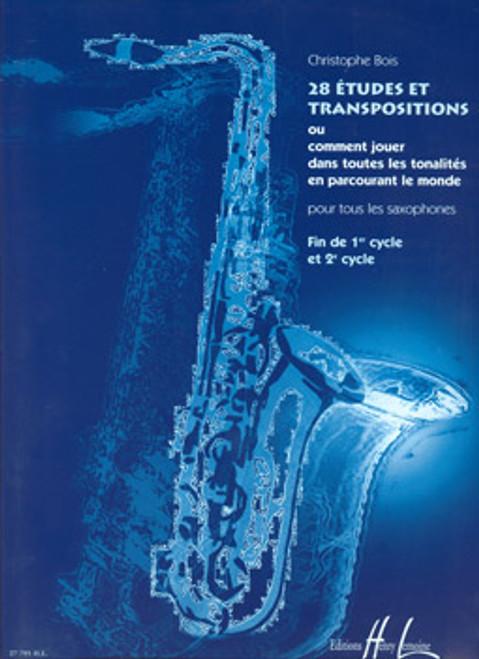 28 Etudes/Transpositions [CF:524-03053]