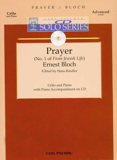 Bloch, Prayer (No. 1 Of 'From Jewish Life') [CF:B3436]