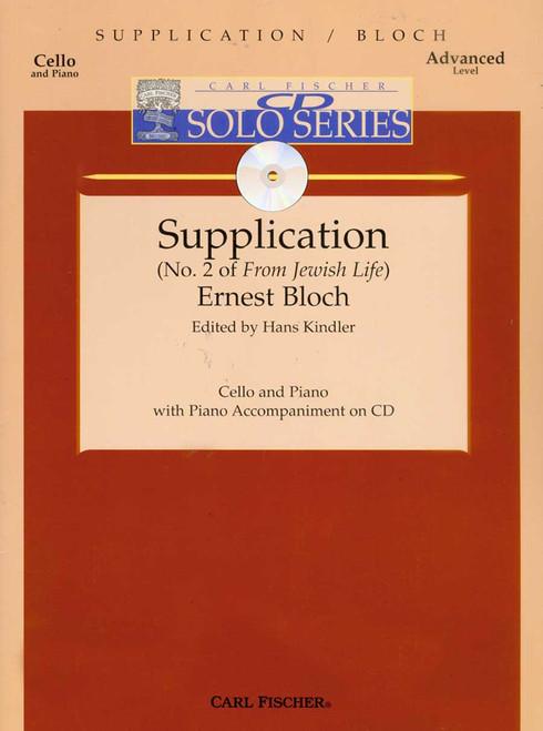 Bloch, Supplication (No. 2 Of 'From Jewish Life') [CF:B3437]